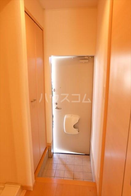 カーサリブラⅡ 01010号室の玄関