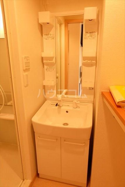 カーサリブラⅡ 01010号室の洗面所