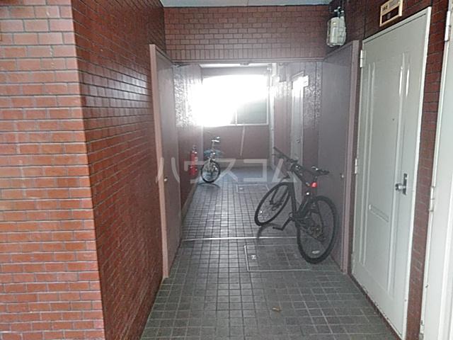 ヴィラ大橋Ⅱ 103号室のエントランス