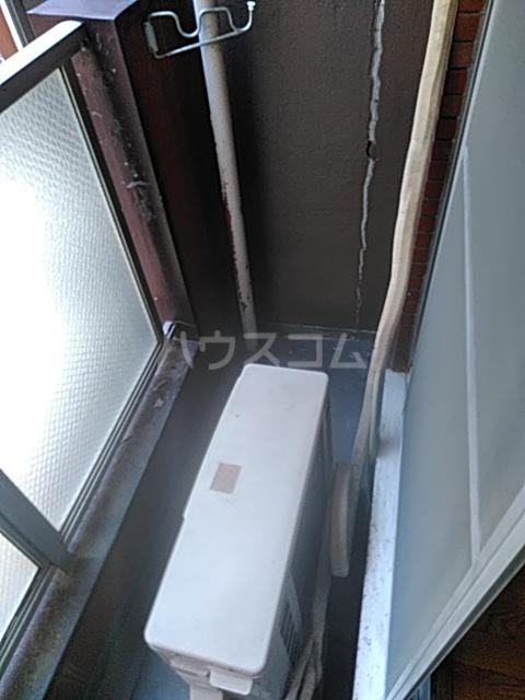 ヴィラ大橋Ⅱ 103号室のバルコニー