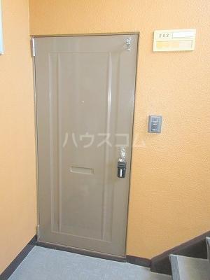第三佐鳴台サニーハイツ 202号室の玄関