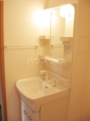 ひまわり 02030号室の洗面所