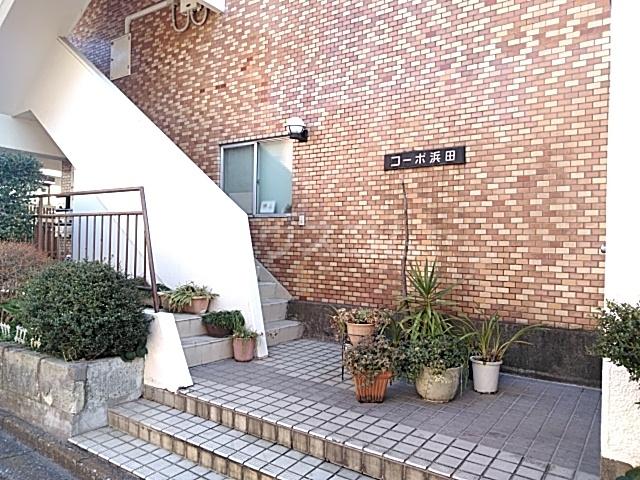 コーポ浜田 201号室のエントランス