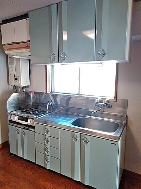 コーポ浜田 201号室のキッチン