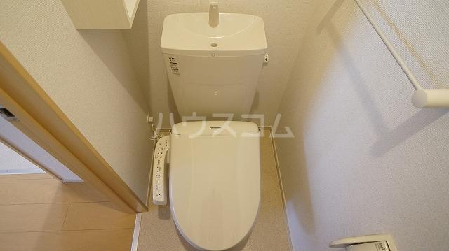 T'sウィステリアⅡ 02010号室のトイレ