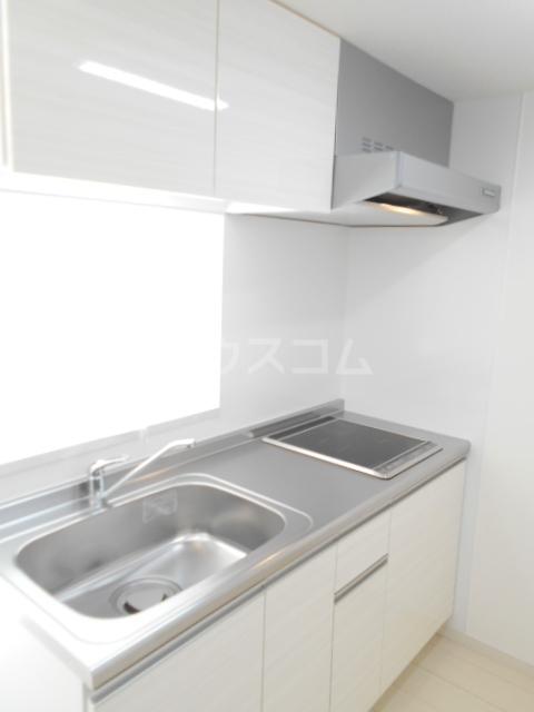 リブリ・アルモ 206号室のキッチン