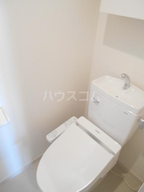 リブリ・アルモ 206号室のトイレ