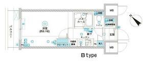フェニックス横浜関内BAY GAIA・202号室の間取り