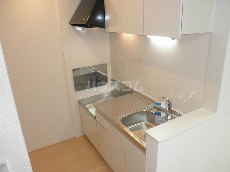 アルカンシエル 02040号室のキッチン