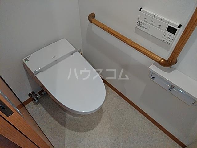 シャンドフルール 401号室のトイレ