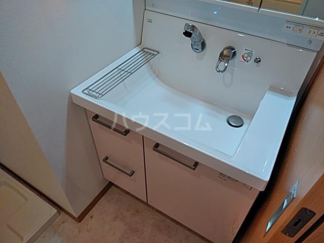 シャンドフルール 401号室の洗面所