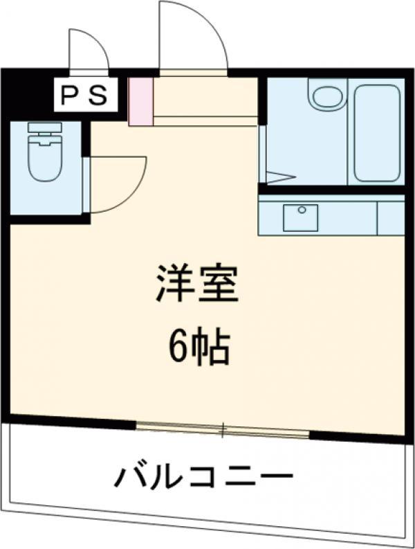 K's CUBE・305号室の間取り