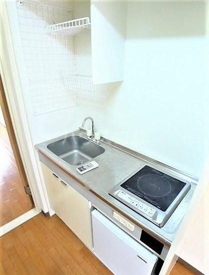 キャッスル柏 201号室のキッチン