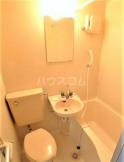 キャッスル柏 201号室の風呂