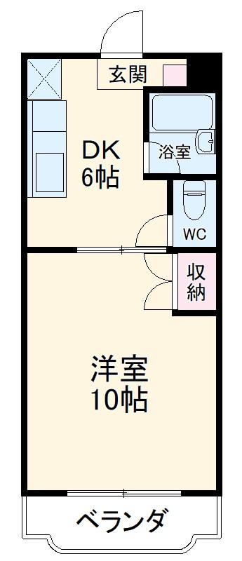 ソレーユ富士・103号室の間取り
