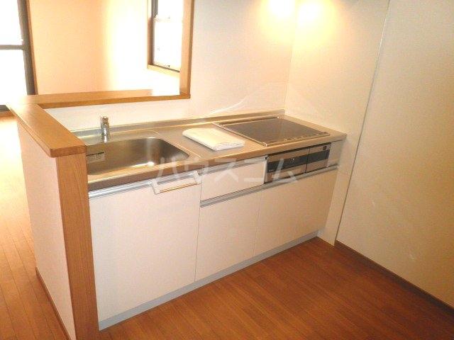 シンプルライフC棟 101号室のキッチン
