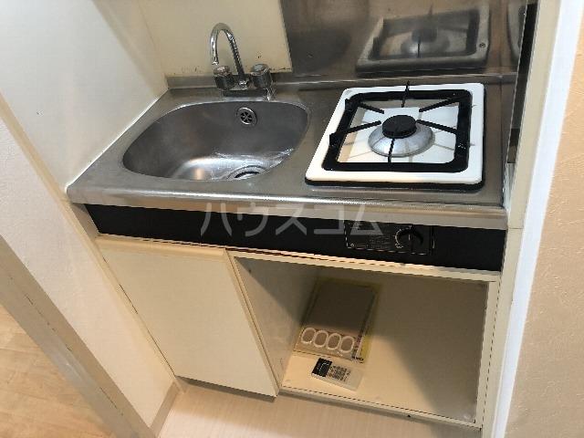 メゾンエマーブル 107号室のキッチン