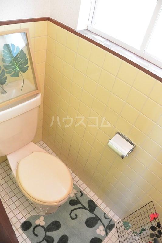 ラフォーレ春日 105号室のトイレ
