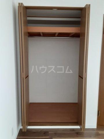 ブルグ清涼 203号室の収納