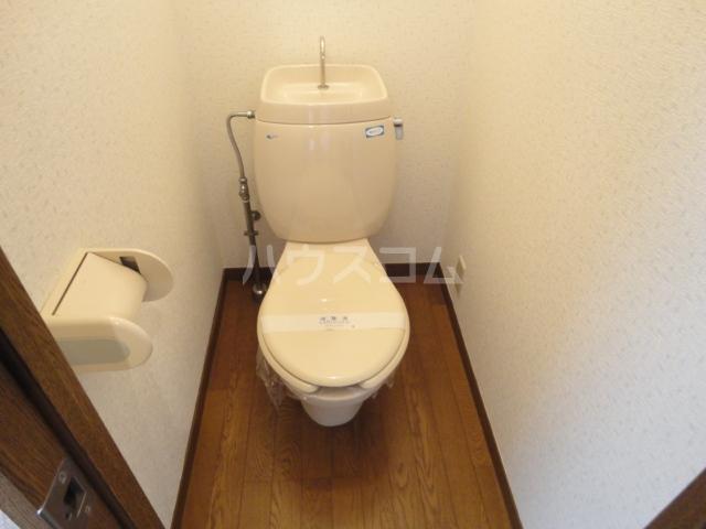 CREST6 101号室のトイレ
