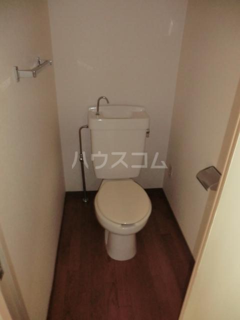 鶴見ガーデンハイム A206号室のトイレ