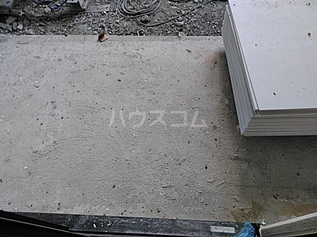 アスヴェル京都太秦 111号室の庭