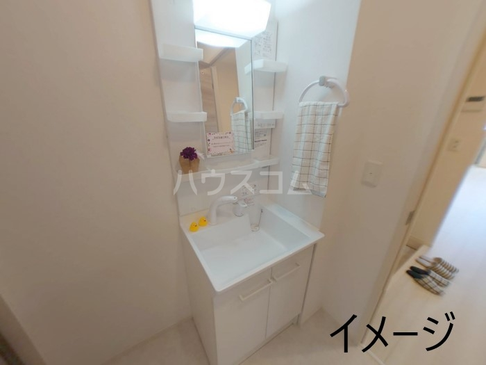 (仮称)D-room玉井町 301号室の洗面所