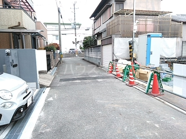 (仮称)D-room玉井町 102号室のバルコニー