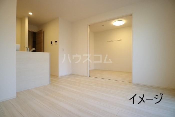 (仮称)D-room玉井町 102号室のリビング
