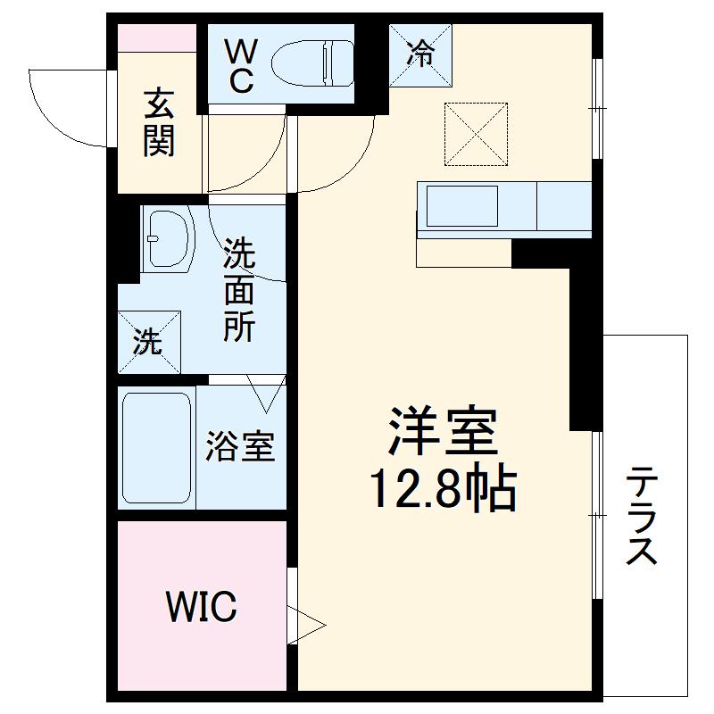 仮称)D-room北区山田2丁目ハイツ 301号室の間取り