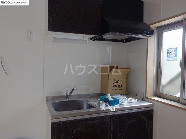 ドーム多摩 P棟 206号室のキッチン