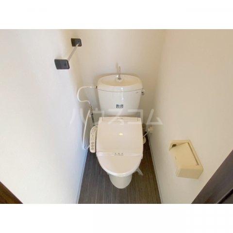 サンハイツかどやB棟 202号室のトイレ