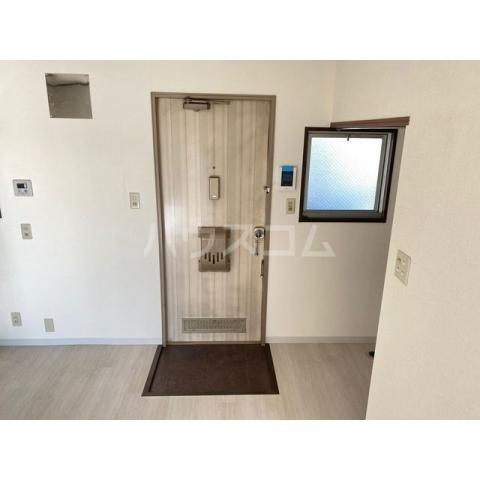 サンハイツかどやB棟 202号室の玄関