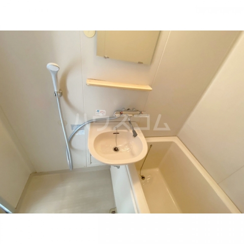 サンハイツかどやB棟 202号室の洗面所