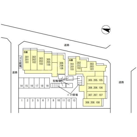 (仮)D-Room吉川保1丁目B 103号室のその他