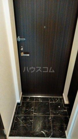 リシェス西早稲田 209号室の玄関