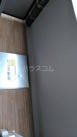リシェス西早稲田 209号室のバルコニー