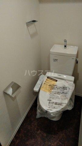 リシェス西早稲田 209号室のトイレ