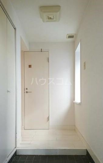 レーベン欅 203号室の玄関