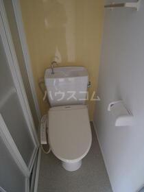 ユナイト小田ニキータの瞳 103号室のトイレ