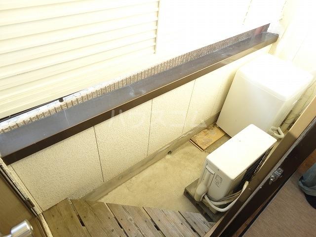 プチハイムキムラ 1-B号室のバルコニー