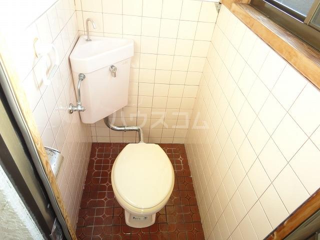プチハイムキムラ 1-B号室のトイレ