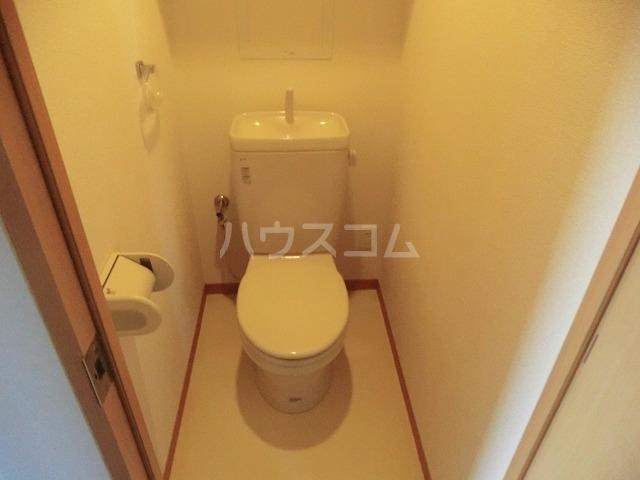 アイユー栗ノ木 207号室のトイレ