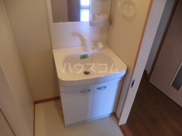 アイユー栗ノ木 207号室の洗面所