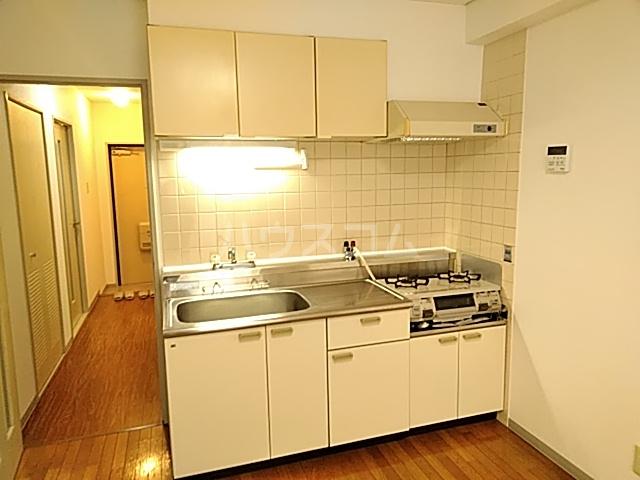 千里ロイヤルハイツ 105号室のキッチン