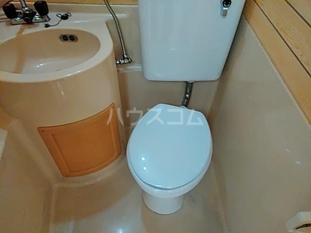 コーポ北浦 102号室のトイレ