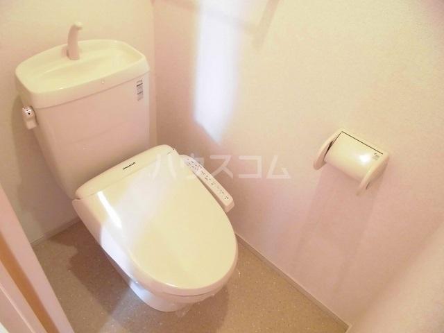スウィートピーB 02040号室のトイレ