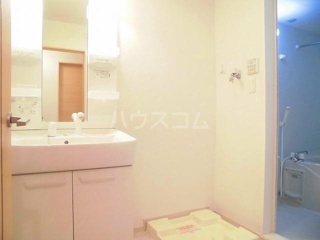 スウィートピーB 02040号室の洗面所