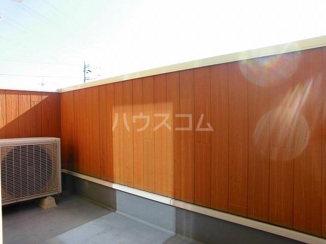 スウィートピーB 02040号室のバルコニー