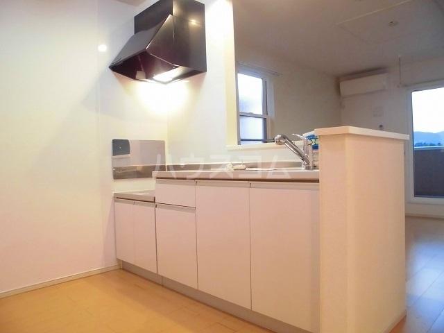 スウィートピーB 02040号室のキッチン